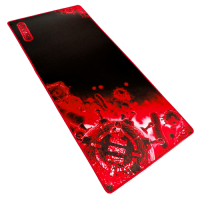 ENHANCE XXL Extended Gaming Mouse Mat / Pad ( 31.5 x 13.75 Inches ) - Red