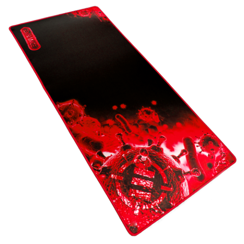 XXL Extended Gaming Mouse Mat / Pad ( 31.5 x 13.75 Inches ) - Red