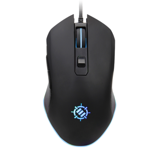 ENHANCE Infiltrate Gaming Mouse - Multi-Color LED Lighting with 4 DPI Levels