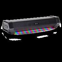 Gaming Speaker Soundbar - Under Monitor PC LED Speaker with 40W Peak Audio Power-Black