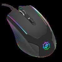 ENHANCE Voltaic Gaming Mouse with 3500 DPI & High-Precision Optical Sensor for PC - Black