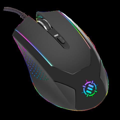 ENHANCE Gaming Mouse with 3500 DPI & High-Precision Optical Sensor for PC